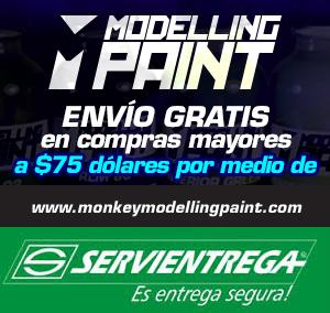 Visita y compra pinturas monkey modelling paint